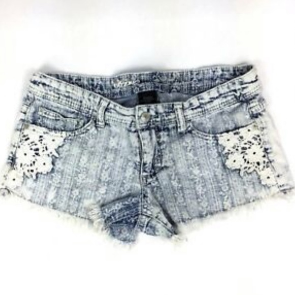Mossimo Supply Co. Pants - Mossimo Low Rise Cut Off Crochet Shorts